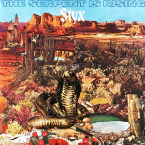 Styx - The Serpent Is Rising cover art