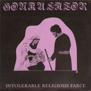 Gonkulator - Intolerable Religious Farce / It's Time to Sacrifice... Our Children cover art