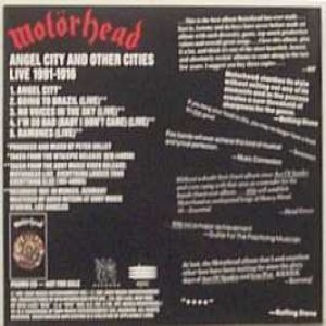 Motorhead - Angel City and Other Cities Live 1991-1916 cover art