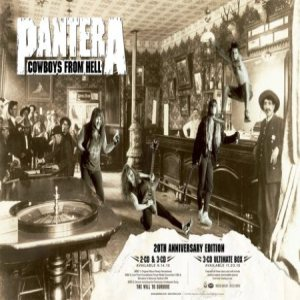 Pantera - Full Metal Jackie Pantera Cowboys From Hell 20th Anniversary Special cover art