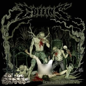 Coffins - Mortuary in Darkness cover art