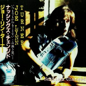 Joe Lynn Turner - Nothing's Changed cover art