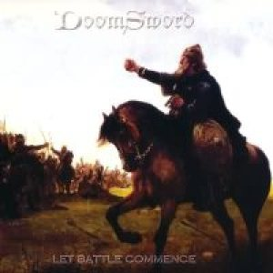 Doomsword - Let Battle Commence cover art