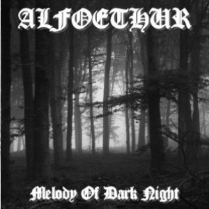 Alfoethur - Melody of Dark Night cover art