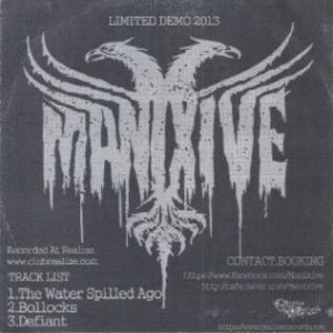 Manixive - Limited Live Demo 2013 cover art