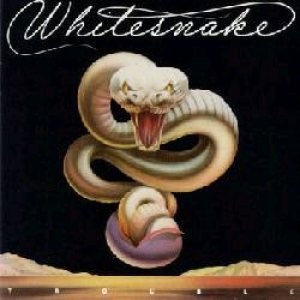 Whitesnake - Trouble cover art