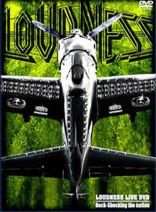 Loudness - Loudness Live DVD: Rock-Shocking the Nation cover art