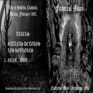 Funereal Moon - Nocturnal Mass Celebration 1995 cover art