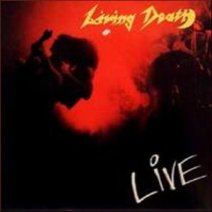 Living Death - Live cover art