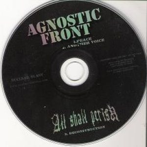 All Shall Perish - Agnostic Front / All Shall Perish cover art