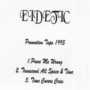 Eidetic - Promotion Tape 1995 cover art