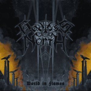 Godless North - World in Flames cover art