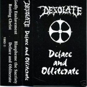 Desolate - Deface and Obliterate cover art