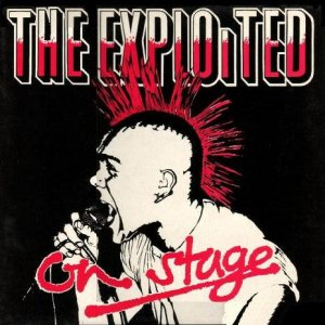 The Exploited - On Stage cover art