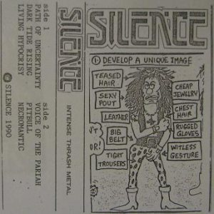 Silence - Intense Thrash Metal cover art