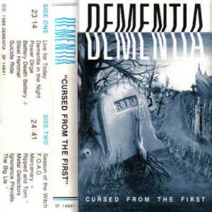 Dementia - Cursed from the First cover art