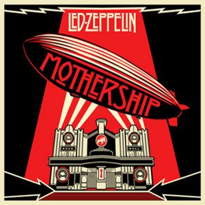 Led Zeppelin - Mothership cover art