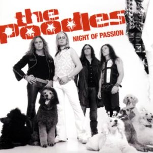 The Poodles - Night of Passion cover art