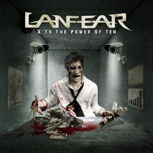 Lanfear - X to the Power of Ten cover art