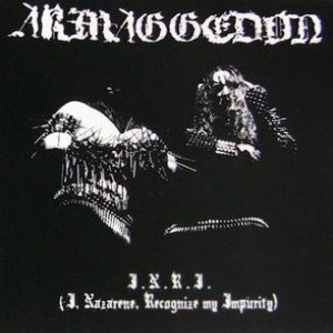Armaggedon - I.N.R.I. (I, Nazarene, Recognize My Impurity) cover art