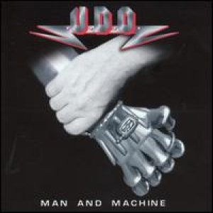 U.D.O. - Man and Machine cover art