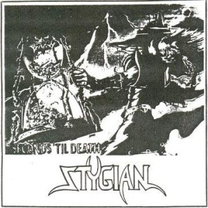 Stygian - Seconds 'Til Death cover art