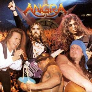 Angra - Holy Live cover art