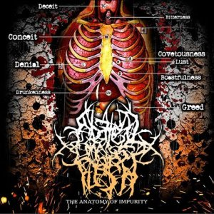 Abated Mass of Flesh - The Anatomy of Impurity cover art