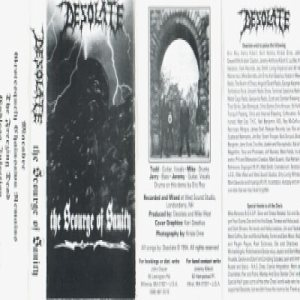 Desolate - The Scourge of Sanity cover art