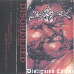 Disordered - Disfigured Corpse cover art