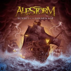 Alestorm - Sunset on the Golden Age cover art