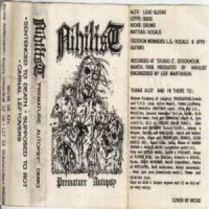 Nihilist - Premature Autopsy cover art