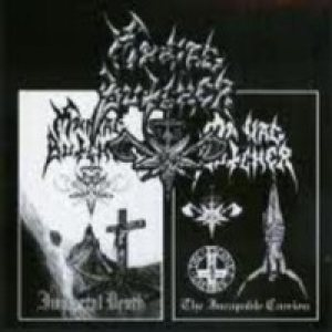 Maniac Butcher - Immortal Death / the Incapable Carrion cover art