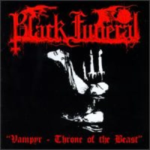 Black Funeral - Vampyr - Throne of the Beast cover art