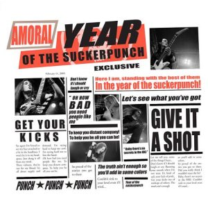 Amoral - The Year of the Suckerpunch cover art