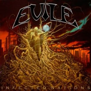 Evile - Infected Nations cover art