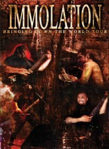 Immolation - Bringing Down the World cover art
