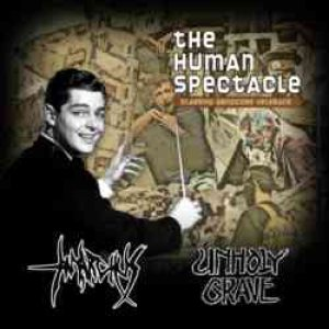 Unholy Grave - The Human Spectacle cover art