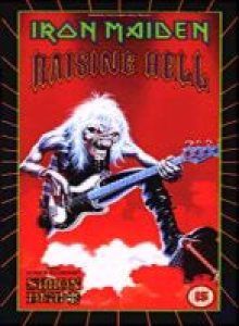 Iron Maiden - Raising Hell cover art
