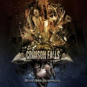 Crimson Falls - Downpours of Disapproval cover art