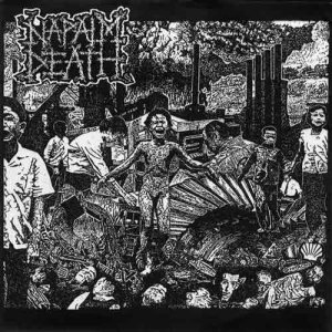 Napalm Death - Live EP cover art