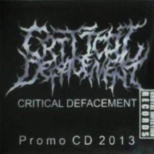 Critical Defacement - Promo CD 2013 cover art