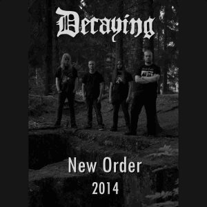 Decaying - New Order 2014 cover art