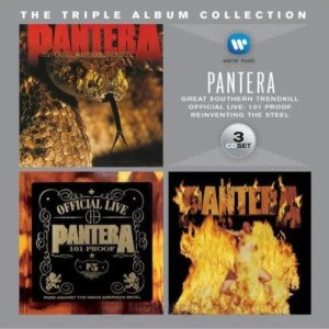 Pantera - The Triple Album Collection cover art