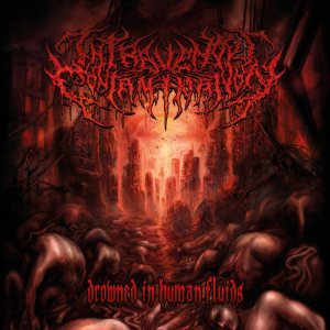 Intravenous Contamination - Drowned in Human Fluids cover art