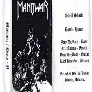 Manowar - Demo `81 cover art