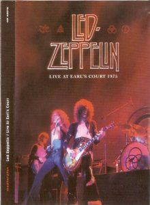 Led Zeppelin - Live At Earl's Court 1975 cover art