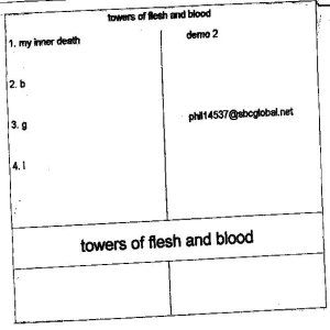 Towers of Flesh and Blood - Demo 2 cover art