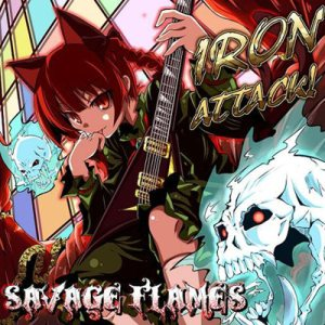 Iron Attack! - Savage Flames cover art