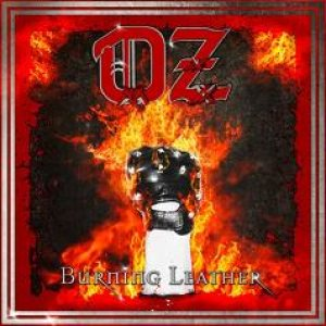 OZ - Burning Leather cover art
